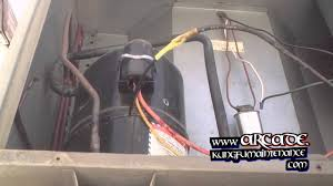 how to repair broken air conditioner compressor wiring plus fan how to repair broken air conditioner compressor wiring plus fan motor not starting
