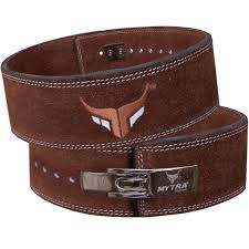mytra fusion leather weight lifting power lifting belt