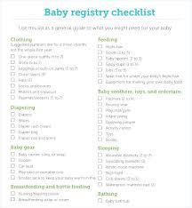 Elegant Baby Shower Registry List 13 For Your Baby Shower Sentiments