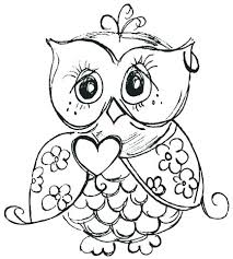 Owl Coloring Pages For Adults Cute Owl Coloring Pages Cute Owl