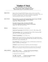 Resume Template Office Resume For Study