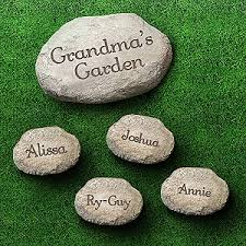 engraved garden stones. Glamorous Personalized Garden Stones Manificent Decoration Stepping Engraved