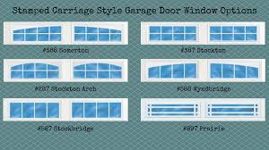 Image Inserts Stampedcarriagestylegaragedoorwindowoptions Fagan Door Stamp Carriage Garage Door Installation Atlanta Ga Css Garage Doors