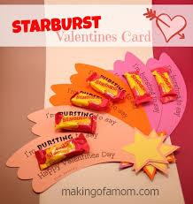 Starburst Valentine's Day Card