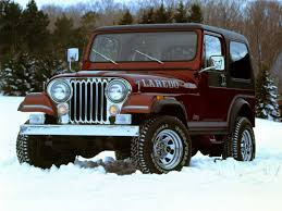 jeep history in the 1980s jeep history cj 7 laredo