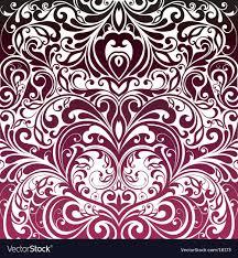fl decorative wallpaper vector image
