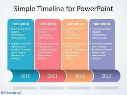 Powerpoint Timeline Template Free Davidhdz Co