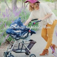 stretchy multi use tie dye baby car seat cover ping cart cover nursing scarf