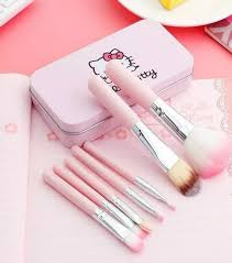 o kitty makeup brushes set pack of 7