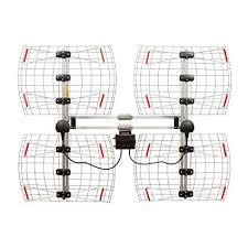antennas direct 8 element bowtie indoor outdoor hdtv antenna