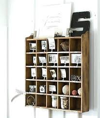 wall cubby organizer wood wall organizer pottery barn organizer had to have it happy camper home