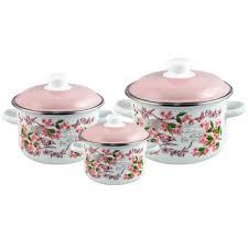 <b>Набор эмалированной посуды 3</b> предмета №19 Bird - ТМ Appetite