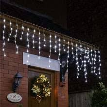 outdoor christmas lighting. christmas icicle lights outdoor lighting
