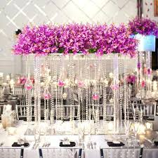 crystal garland for chandelier meters clear glass crystal beaded garlands chandelier crystal strands for wedding centerpiece