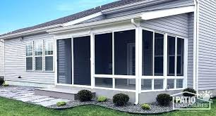 do screened in deck kits it yourself screen porch champion patio enclosure room