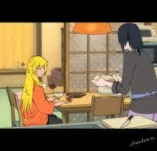 Sasuke made breakfast for his beloved pregnant wife - Naruko)) original:  sta.sh/0zvbk7u6lzk   Naruko uzumaki, Naruto uzumaki, Sasuke