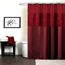 red shower curtain hooks gallery lips star full image for home fashions cor