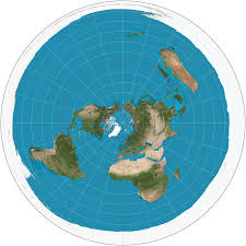 flat earth vs round earth the flat earth map