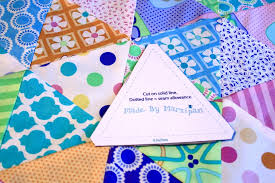 Triangle Quilt Tutorial - Made By Marzipan & Triangle Quilt Tutorial Adamdwight.com