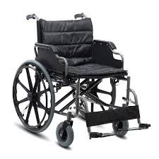 KosmoCare Deluxe Heavy Duty Premium Foldable Wheelchair Ideal for Heavy Patients: Amazon.in: Health & Personal Care