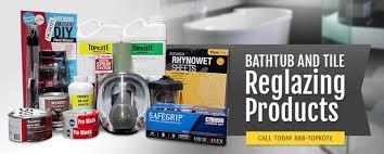topkote bathtub countertop tile refinishing and resurfacing supplies and equipment