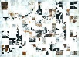 cow print rug large size of cow print rug faux cowhide patchwork rug for your family