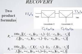 two recovery formula