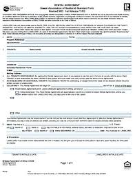Commercial Rental Lease Agreement Template Free Ideas Standard ...