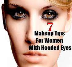 women with hooded eyes have heavy eyelids which can make their eyes look exceptionally small applying makeup on hooded eyes is not