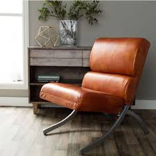 faux leather chairs contemporary rust accent living black leather reception area