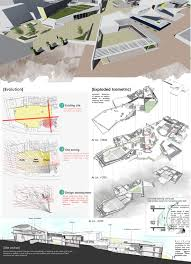 Design Sheets Of Architecture Students B Arch Thesis Center For Art Architecture Role Of An