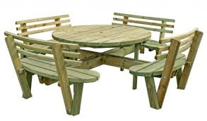 by size handphone tablet desktop original size round picnic table with attached benches