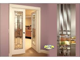 pre stained oak internal doors interior glass barn office etched stained glass interior doors