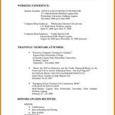 Proper Resume Job Format Examples Data Sample New Example 2014