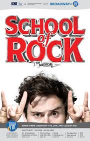 Tpac Johnson Theater Seating Chart Tpac Broadway School Of Rock The Musical By Performing Arts