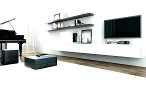 wall storage unit floating shelf shelves tv corner