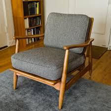 50 fresh wood arm chair with cushion graphics