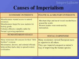 Reasons For Imperialism Gr 10 Imperialism Factors