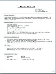 Good Resume Layout Magnificent Resume Format Format Resume Resume Format Examples Word