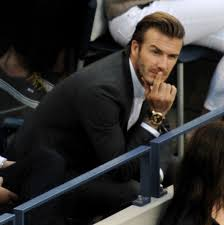 david beckham at the us open and victoria in her favourite dress david beckham watches the us open men s final 164577