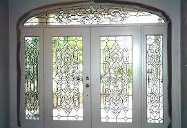 stained glass front door doors leaded exterior for stained glass front door