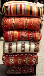 Floor Pillows And Poufs Moroccan Pillows Love The Stripes In The Top Pillow