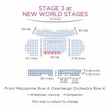 New World Theater Seating Chart Best Picture Of Chart