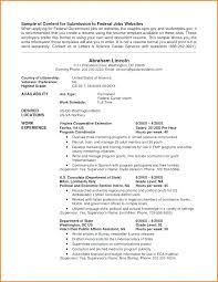 Us Government Resume Template – Mklaw