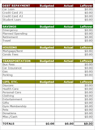 Template For Home Budget Free Home Budget Template Pin By F On Projects Household