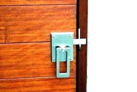 sliding barn door locking hardware lock latch wonderful locks for shed can you a