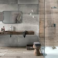 concrete tile bathroom effect tiles backstage modern ideas