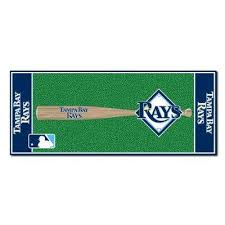 tampa bay rays 3 ft x 6 baseball runner rug area rugs tampa26 tampa