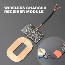 qi diy 5w 2a wireless charger module pcba circuit board with coil charging for samsung galaxy plus wireless charging standard