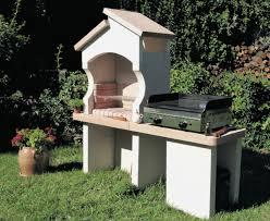 Barbecue Castille Pierre Reconstitu E Blanc Lib Industries